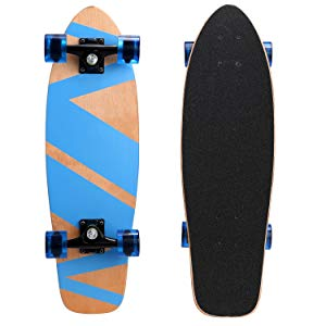 Ancheer 27-inch Cruiser Skateboard Complete