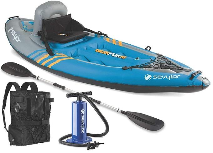 Sevylor Quikpak K1 Inflatable Kayak