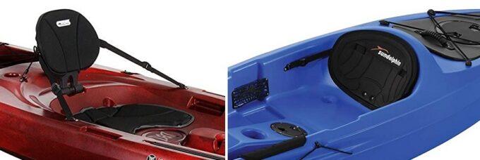 Sit on Top kayak seats