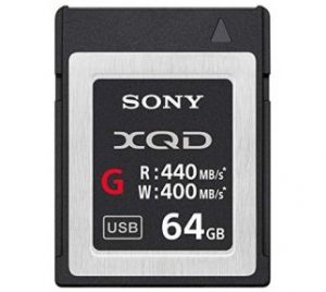 Sony XQD G Series Memory Card