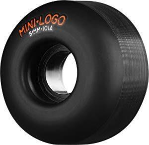 Best Cheap Skateboard Wheels – Mini-Logo Skateboards C-Cut Skateboard Wheel (53mm 101A)