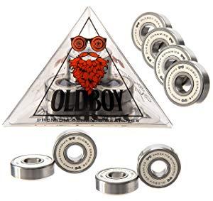 Oldboy Premium Ceramic Bearings for Longboard