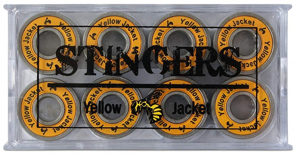 Yellow Jacket Skateboard Bearings