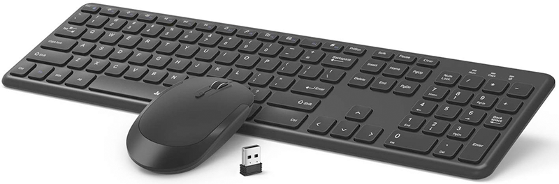 Jelly Comb Wireless Keyboard and Mouse