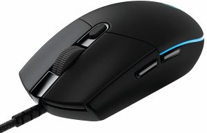 Logitech G Pro Gaming FPS Mouse with Advanced Gaming Sensor