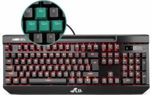 Rii K61C USB Mechanical Gaming Keyboard