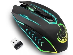 UHURU Wireless Gaming Mouse Rechargeable