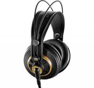 AKG K240 STUDIO Semi-Open Over-Ear Professional Studio Headphones