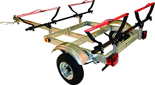 Malone Xtralight Trailer Package w 2 V-Kayak Racks