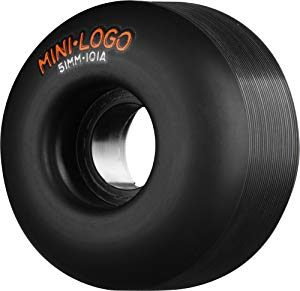 Best Cheap Skateboard Wheels – Mini-Logo Skateboards C-Cut Skateboard Wheel (53mm 101A)