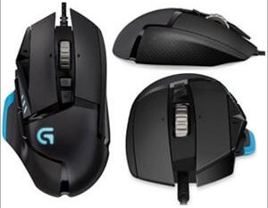 Logitech G502 Versatile Gaming Mouse