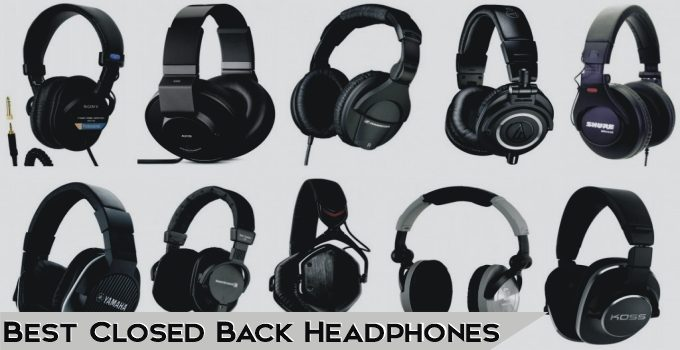 11 Best Closed Back Headphones 2021 – Buying Guide