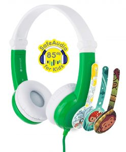 ONANOFF BuddyPhones Connect Foldable Kids Volume Limiting Headphones