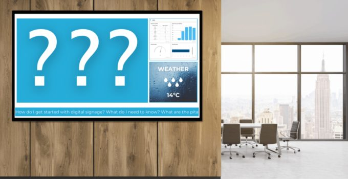 What is Digital Signage & How it Can Help Your Business in 2021
