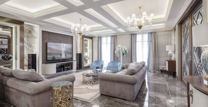 Fun Textures for an Elegant and Luxurious Space
