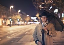 How Do You Hold an Umbrella Like a Gentleman?