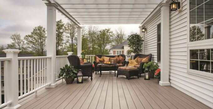 Can You Clean a Composite Deck With Vinegar?